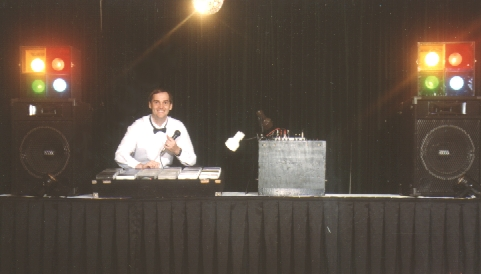 Professional DJ Brian Harrell 15+ Years Experience doing weddings, conventions, corporate events, private parties